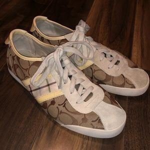Coach Paxton Monogram Sneakers